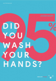 World Health Organization/ WHO: Facts to safe -  Did you wash your hands? Print Ad by Grow Advertising Group, Bogotá, Colombia
