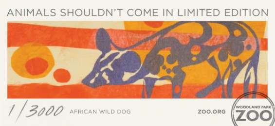 Woodland Park Zoo: African Wild Dog Print Ad by Wongdoody