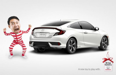 Honda: Toy Print Ad by Wax