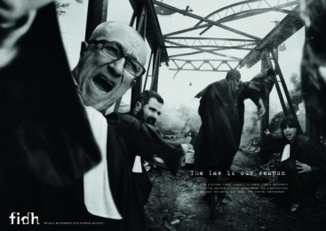 fidh: The law is our weapon, 2 Print Ad by Saatchi & Saatchi + Duke France