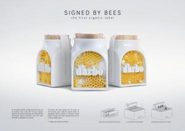 Darbo: Signed by bees [image] 2 Design & Branding by Demner, Merlicek & Bergmann