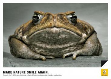 Renault Eco2: FROG Print Ad by Publicis Frankfurt