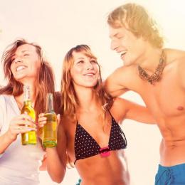 Open Jugs: The First Bikini Top Bottle Opener, 3 Print Ad by Miami Ad School New York
