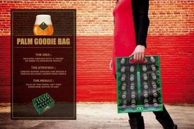 Palm: GOODIE BAG Promo / PR Ad by VVL BBDO Brussels
