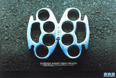 Rede Plaza: BRASS KNUCKLES Print Ad by Upgrade Comunicacao Total