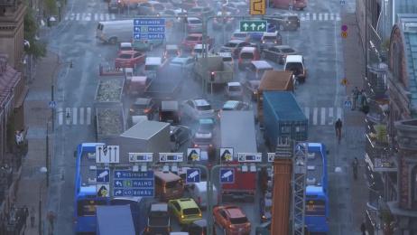 Västtrafik: Traffic Folding Ad Film by Forsman & Bodenfors Gothenburg