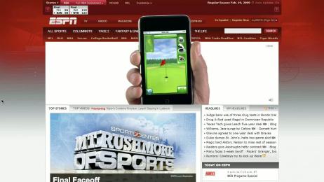 Ipod Touch: ESPN Film by TBWA\Media Arts Lab Los Angeles