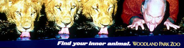 Woodland Park Zoo: LIONS Print Ad by DDB New York