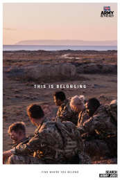 Army: This is belonging, 1 Print Ad by Karmarama London, Smuggler