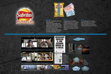 Snak Products: SABRILANA Print Ad by Vale Euro Rscg Mexico