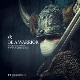 Sr Franco: Be a Warrior, 3 Digital Advert by El Sr Franco