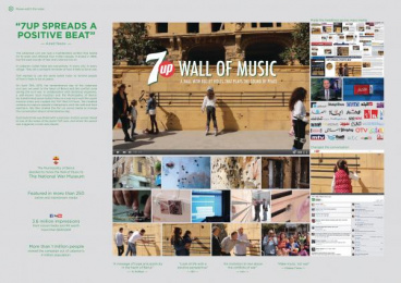 7-up: 7UP WALL OF MUSIC  Case study by Impact BBDO Dubai, JANSENHARRIS, UNITED ARAB EMIRATES