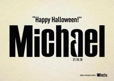 Hecha: Michael Print Ad by Guzel Sanatlar/bates