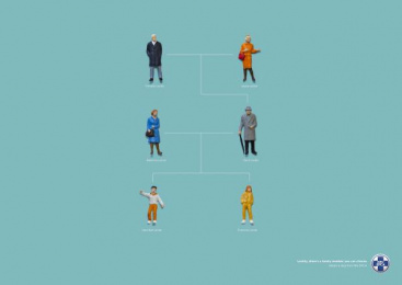 Cape of Good Hope SPCA: Lecter Family Tree Print Ad by Foxp2 Johannesburg