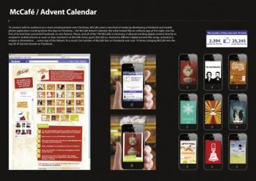 Mccafe: THE DIGITAL ADVENT CALENDAR Promo / PR Ad by TBWA\ Berlin