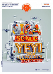 ODTU Teknokent: It's your turn! Print Ad by İmalathane