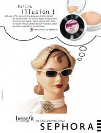 "Sephora Fragrances & Cosmetics: ""Benefit 1"" Print Ad by Quelle Belle Journee"