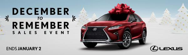 Lexus: December to Remember Print Ad by Anonymous Content, Team One Los Angeles