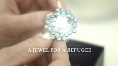 The Norwegian Organisation for Asylum Seekers: A jewel for a refugee Ambient Advert by Good Morning