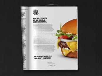 Burger King: Master Burger, 2 Print Ad by Buzzman