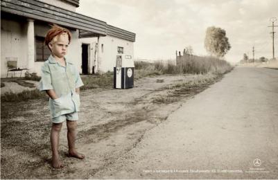 Mercedes-Benz: TOUPEE Print Ad by Leo Burnett Johannesburg, Leo Burnett USA