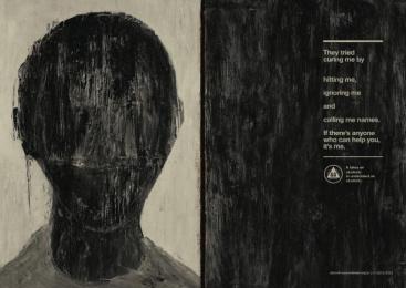 Aa Alcoholics Anonymous: Black Face Print Ad by J. Walter Thompson Sao Paulo