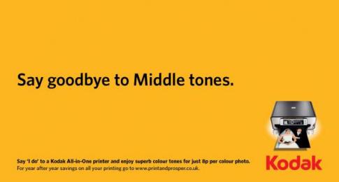 Kodak Inkjet Printers: Royal Wedding, 3 Print Ad by Ogilvy & Mather London, OgilvyAction London, OgilvyOne London