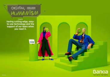 Bankia: Digital Humanism, 6 Print Ad by Attic Films, CLV Madrid