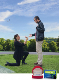 Rafa Arthryl GO: Will You Marry Me? Print Ad by M&C Saatchi Tel-Aviv