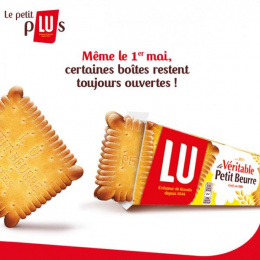 Lu Biscuits: Meme Le 1 mai Print Ad by Carat Paris, CLM BBDO Paris