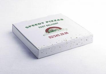 Speedy Pizzas: FLIES Print Ad by Grey Brussels