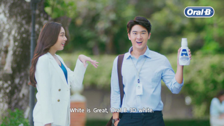Oral-b: White is Great, 1 Film by Saatchi & Saatchi Bangkok
