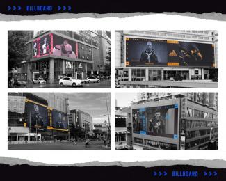 Adidas: adidas Z.N.E. - Billboard Outdoor Advert by TBWA\ Shanghai