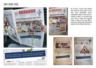 OMV: OMV Education Print Ad by Demner, Merlicek & Bergmann