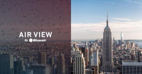 Blue air: Air View [image] 4 Digital Advert by Burson-Marsteller