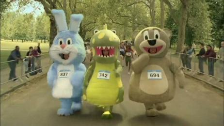 Weetabix MINI Crunch: Marathon Film by Blink Productions, MPC, WCRS