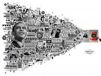 Zmg: Obama Print Ad by Ogilvy & Mather Frankfurt