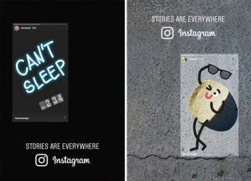 Instagram: Stories Are Everywhere [image] 7 Print Ad by Wieden + Kennedy Amsterdam