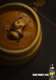 Raid: Wasp Print Ad by NII Kyiv