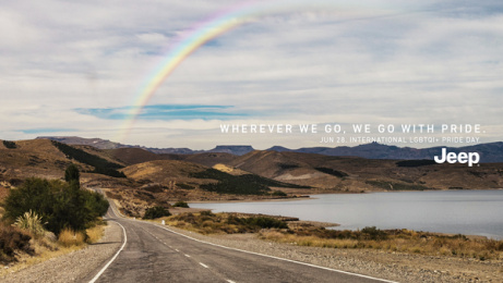 Jeep: Rainbow, 5 Print Ad by Together w/, Buenos Aires, Argentina