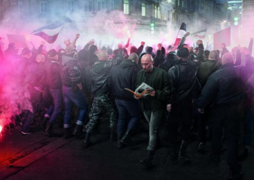 Reporter Magazine: Questioning Neo-Nazism Print Ad by Y&R Prague