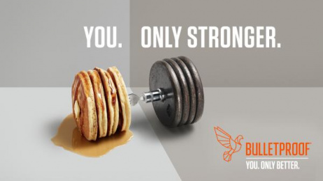 Bulletproof: You. Only Stronger. Print Ad by Will Creative Inc.