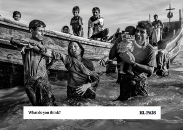 El País: What do you think?, 4 Print Ad by Shackleton Spain