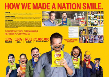 Lays: Pass A Smile [image] Case study by Impact BBDO Cairo, Impact BBDO Lahore