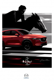 Mazda: Tap-to-Pay Billboard, 3 Print Ad by J. Walter Thompson Toronto