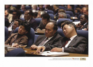 Nakamichi: SLEEPING Print Ad by Quadrant Communications