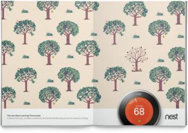 Nest: Seasons Print Ad by BBH New York