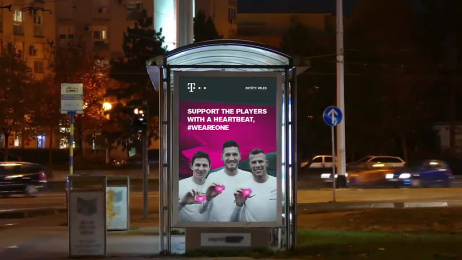 Deutsche Telekom: Telekom We Are One Campaign Digital Advert by DDB Budapest, Moviebar