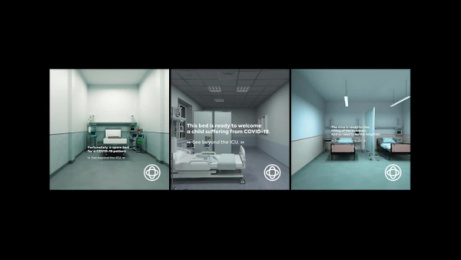 Hospice Casa Sperantei: See Beyond the ICU Digital Advert by Cheil Romania