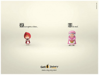 Gett: Make a Long Story Short Print Ad by GNS